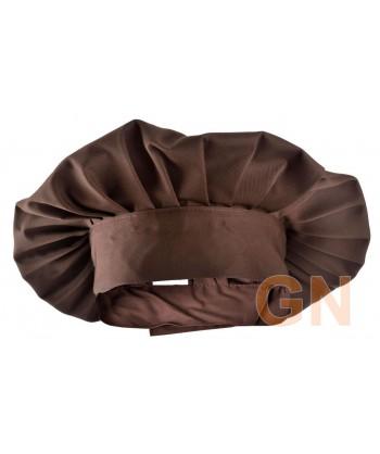 Gorro chef champiñón color marrón