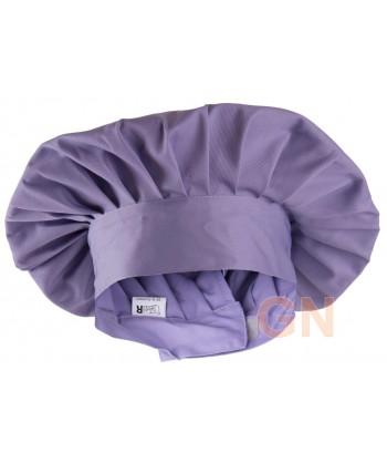 Gorro chef champiñón color violeta