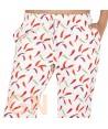 Pantalón unisex de cocina estampado guindillas