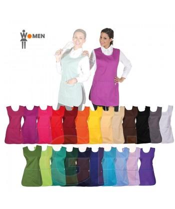 Casulla de colores lisos con bolsillos