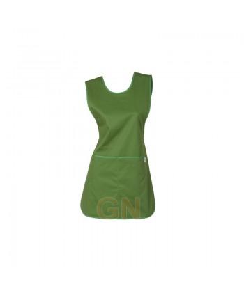 Casulla con bolsillos color verde oliva