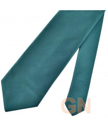 Corbata microfibra color verde