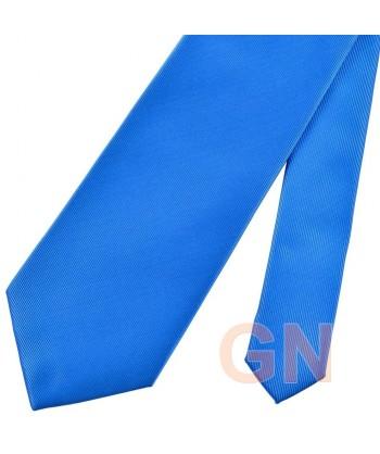 Corbata microfibra color royal