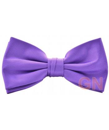Pajarita económica color violeta