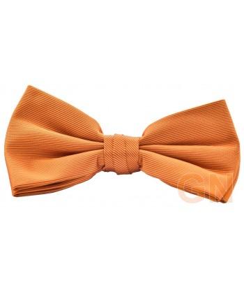 Pajarita económica color naranja