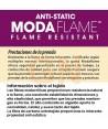 Buzo ignífugo multinorma de fibra modacrílica ARC 2