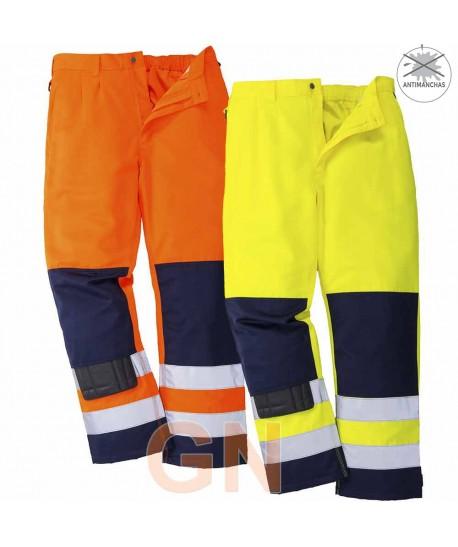 Pantalón bicolor alta visibilidad Portwest TX71