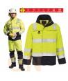 Cazadora alta visibilidad, antiestática, ignífuga, anti arco eléctrico, protección química
