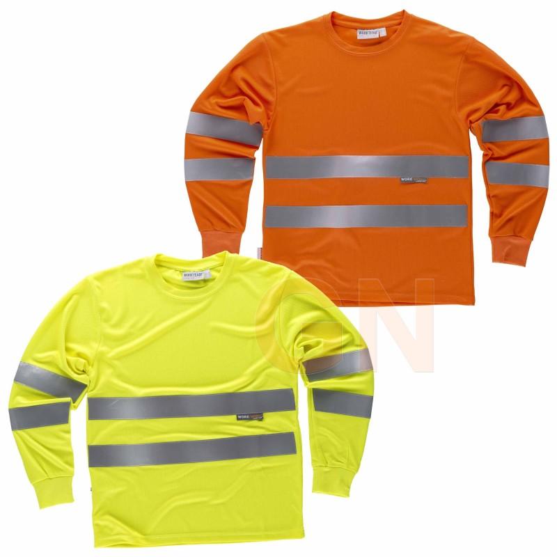 Camiseta de alta viabilidad transpirable de manga larga