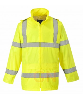 Chubasquero alta visibilidad monocolor amarillo A.V Portwest H440