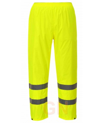Pantalón alta visibilidad monocolor para lluvia o agua amarillo A.V. Portwest H441