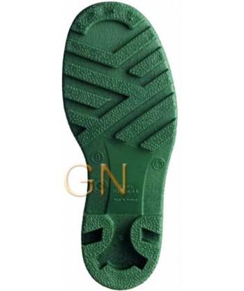 bota alimentaria blanca PVC/nitrilo de Dunlop S4