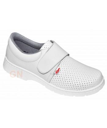 zapatos sanitarios transpirables con cierre velcro