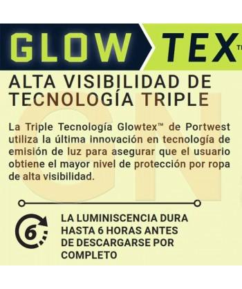 Chaleco multibolsillos con cintas reflectantes y fluorescentes