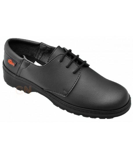 Zapato con cordones antideslizante y transpirable