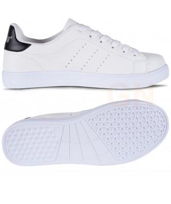 Zapatilla deportiva tipo tenis color blancas