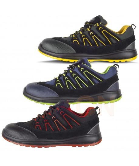 zapato deportivo tipo trekking de seguridad