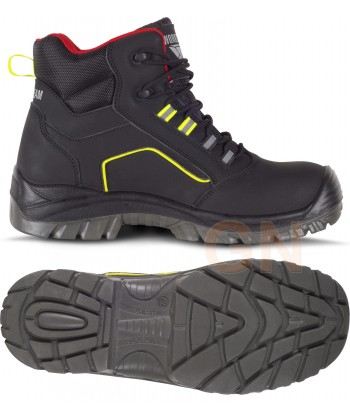Botas deportivas de seguridad en piel. No metálicas