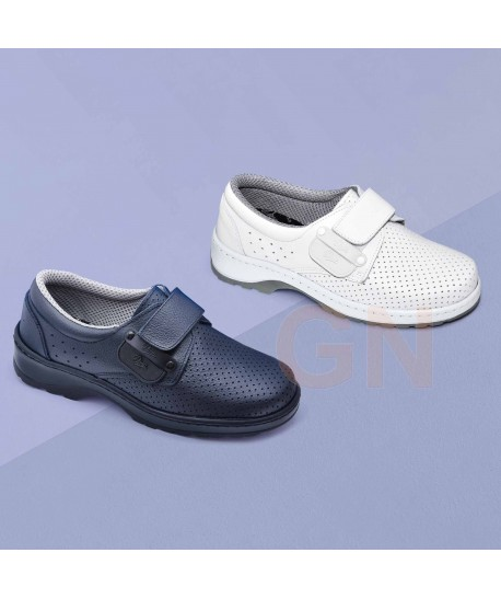 Zapato transpirable y antideslizante con cierre velcro