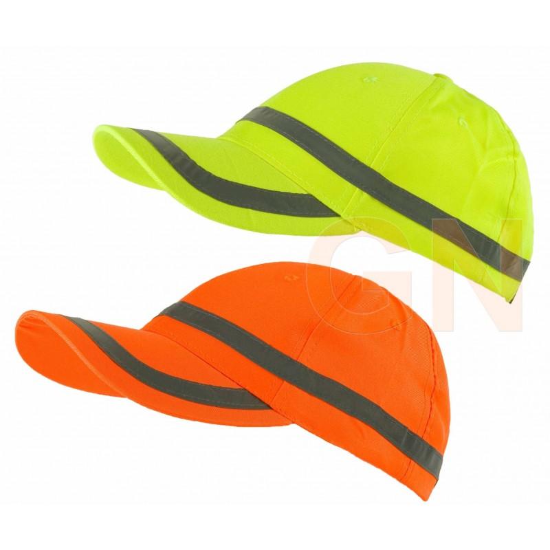 Gorra monocolor de alta visibilidad