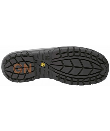Zapato alimentario y antiestático con cierre velcro S2 CI SRC ESD