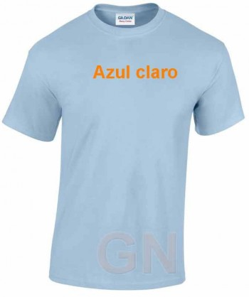 Camiseta de algodón con cuello redondo y manga corta