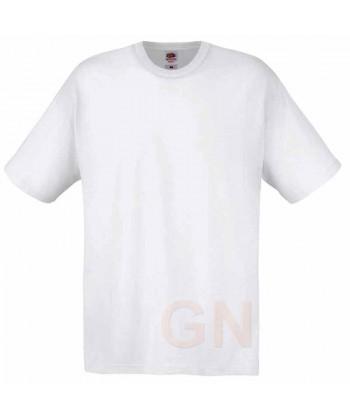 Camiseta Fruit of the Loom de algodón cuello redondo y manga corta Color blanco
