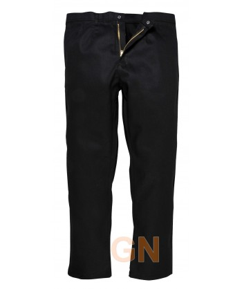 Pantalón ignífugo grueso color negro