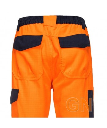 Pantalón alta visibilidad, antiestático, ignífugo, anti arco eléctrico y protección química