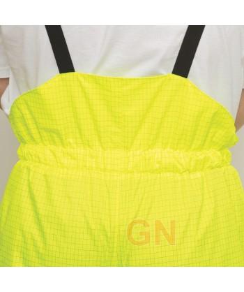 Pantalón ignífugo de alta visibilidad y antiestático. Con forro