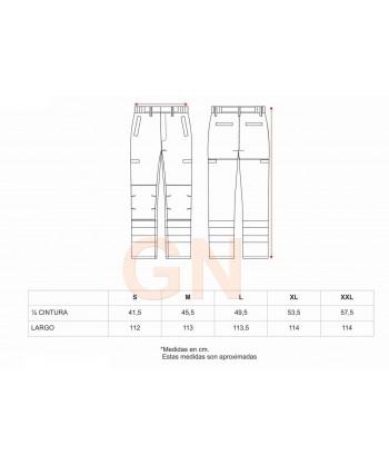 Pantalón de grueso ignífugo, anti arco, protección química y antiestático de alta visibilidad