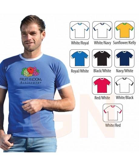 Camiseta manga corta y cuello redondo