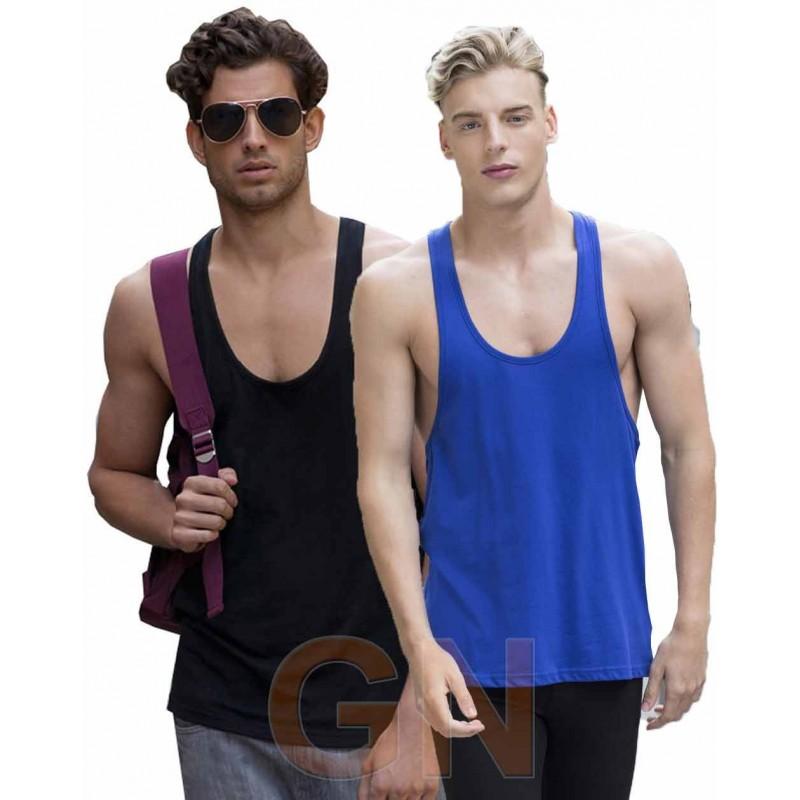Camiseta de tirantes finos para hombre