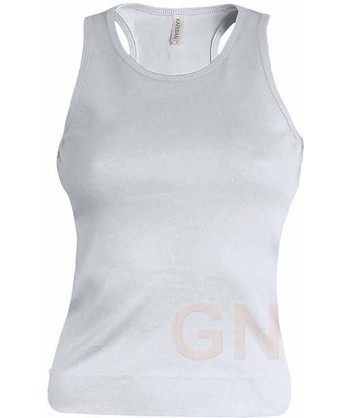 Camiseta de tirantes para mujer color