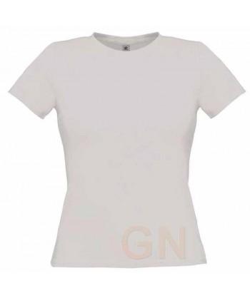 Camiseta manga corta para mujer Color arena