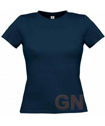 Camiseta manga corta para mujer Color marino