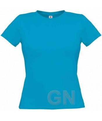 Camiseta manga corta para mujer Color azul royal