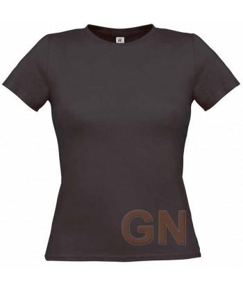 Camiseta manga corta para mujer Color gris oscuro