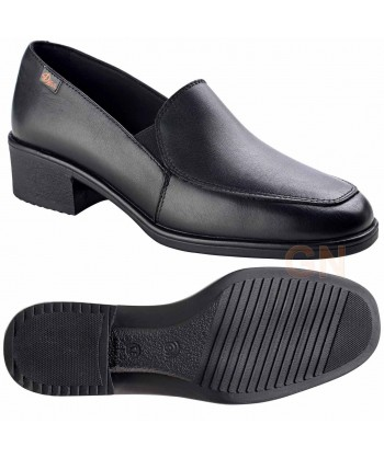 Zapato de señora tipo salón para uniformidad y hostelería