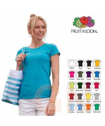 Camiseta manga corta de Fruit of the Loom para mujer