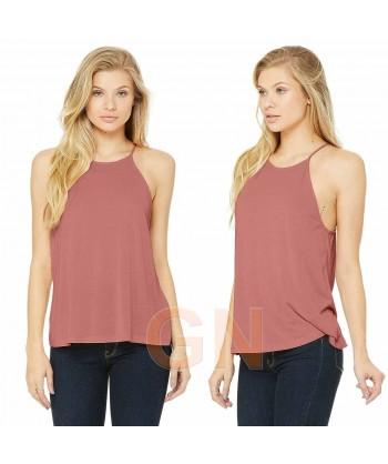 Camiseta de tirantes finos para mujer