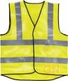 Chaleco alta visibilidad ignífugo y antiestático amarillo flúor