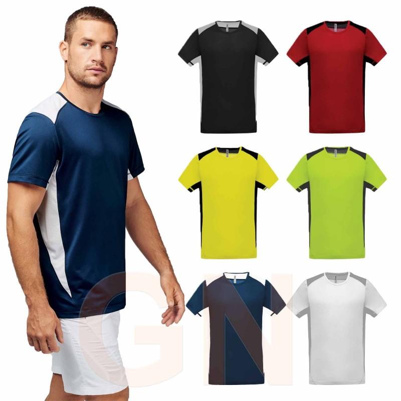 Camiseta manga corta deporte
