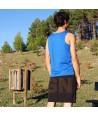 Camiseta masculina de tirantes anchos para deporte