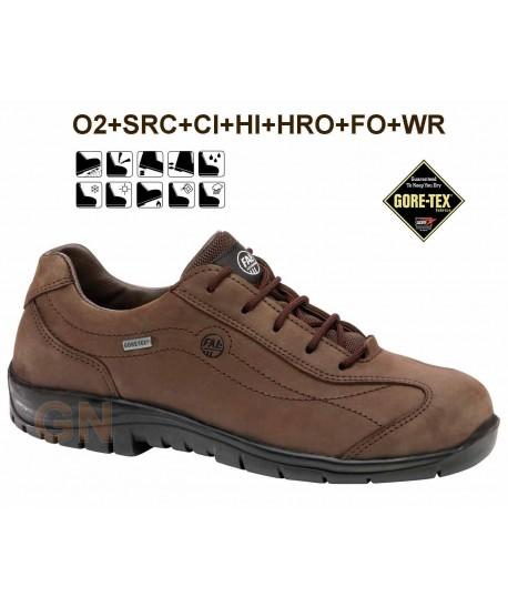 Zapato de piel con Goretex y suela resistente al calor y al frío