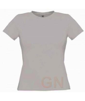 Camiseta manga corta para mujer Color gris ash