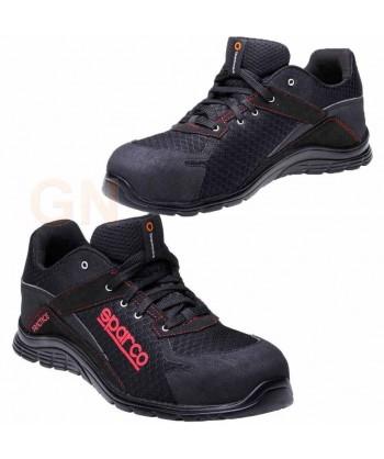 Zapato S1P modelo Practice de Sparco Negro