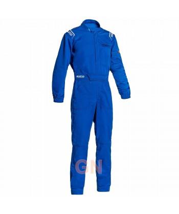 Buzo Sparco MS-3 para mecánico y pilotos de carreras azul