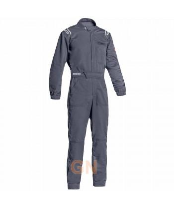 Buzo Sparco MS-3 para mecánico y pilotos de carreras gris