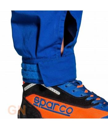 Buzo Sparco MS-3 para mecánico y pilotos de carreras ajuste en tobillo